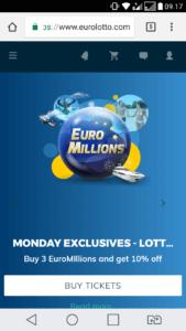 eurolotto mobile casino review